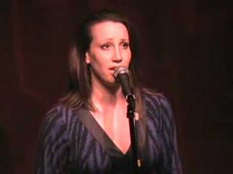 Natalie Weiss--Say Goodbye by Scott Alan at Birdland