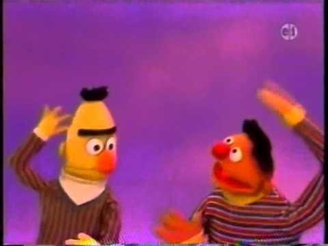 "Sesame Street - Ernie and Bert sing ""Rub Your Tummy"""