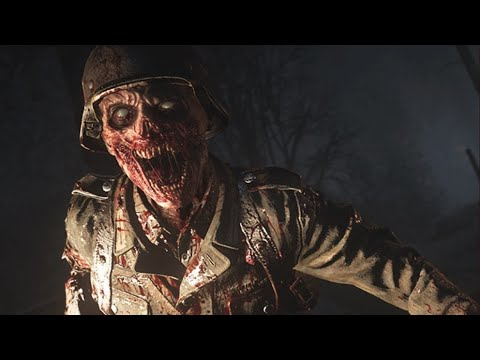 COD 5 - Nazi Zombie Der Riese Strategy 4 PLAYER PART 2