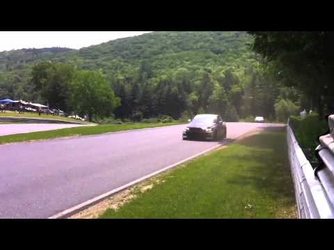 Uphill at Lime Rock in HD