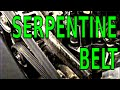 How to replace the Serpentine Belt on your GM 3800 V6 3.8 L engine video guide