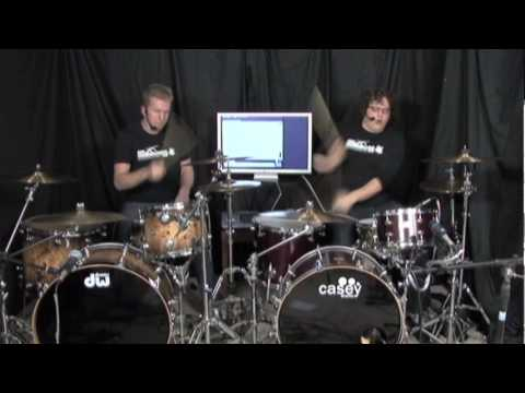Drum Battle #1 - Jared Falk vs. Dave Atkinson