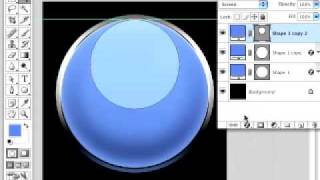 Photoshop Tutorial - Create a Glass Sphere or Gel Button