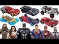Justice League Batman, Superman, Marvel Avengers Hulk Hot Wheels! Defeat dinosaurs! - DuDuPopTOY