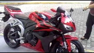 FUNCIONANDO CBR600 RR 2008 - YouTube