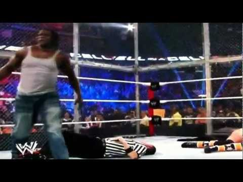 WWE- The Miz and R-Truth Attack at Hell in a Cell!