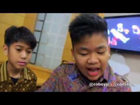 Coboy Junior Dahsyat & 100% Ampuh 11 Februari 2012 - Behind The Stage -oLbDQQY7vMc
