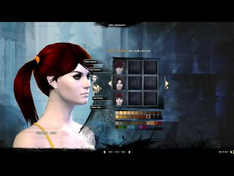 Guild Wars 2 BETA Character Creation Review in 1080p Ultra Graphics