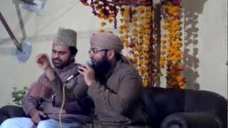 Alhaaj Muhammad Sajid Qadri reciting naat in front of Syed Zabeeb Masood...Meri jholi me rehte hai
