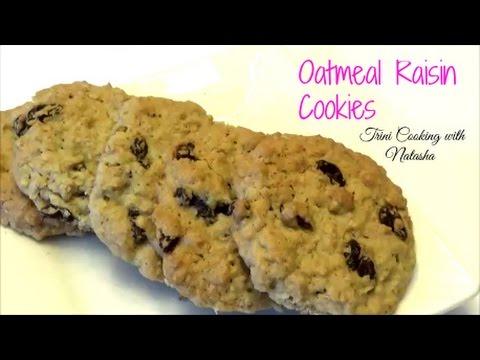 Chewy Oatmeal Raisin Cookies - Episode 380