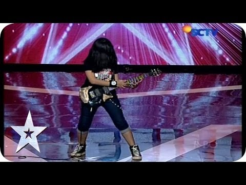 Teenage Girl with Her Guitar Skill - Ratna Mutu Manikam - AUDITION 5 - Indonesia's Got Talent