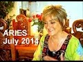 ARIES - JULY 2014 Astrology Forecast - Karen Lustrup