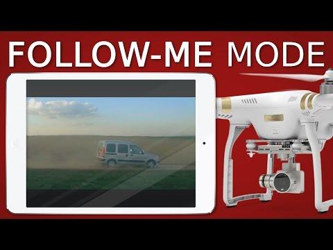 How to use Follow-Me mode   DJI Phantom, Mavic, Spark