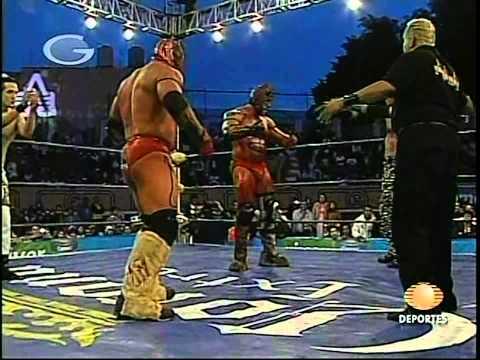 AAA: Elegido, Jack Evans, Gronda (II) vs. Nicho el Millonario, Joe Líder, Groond XXX, 2009/09/06