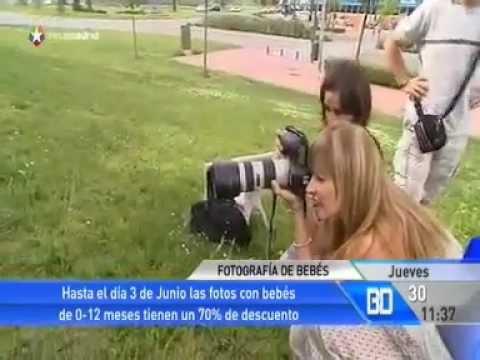Lourdes Balduque telemadrid Buenos dias Madrid fotografía para bebes 3.mp4