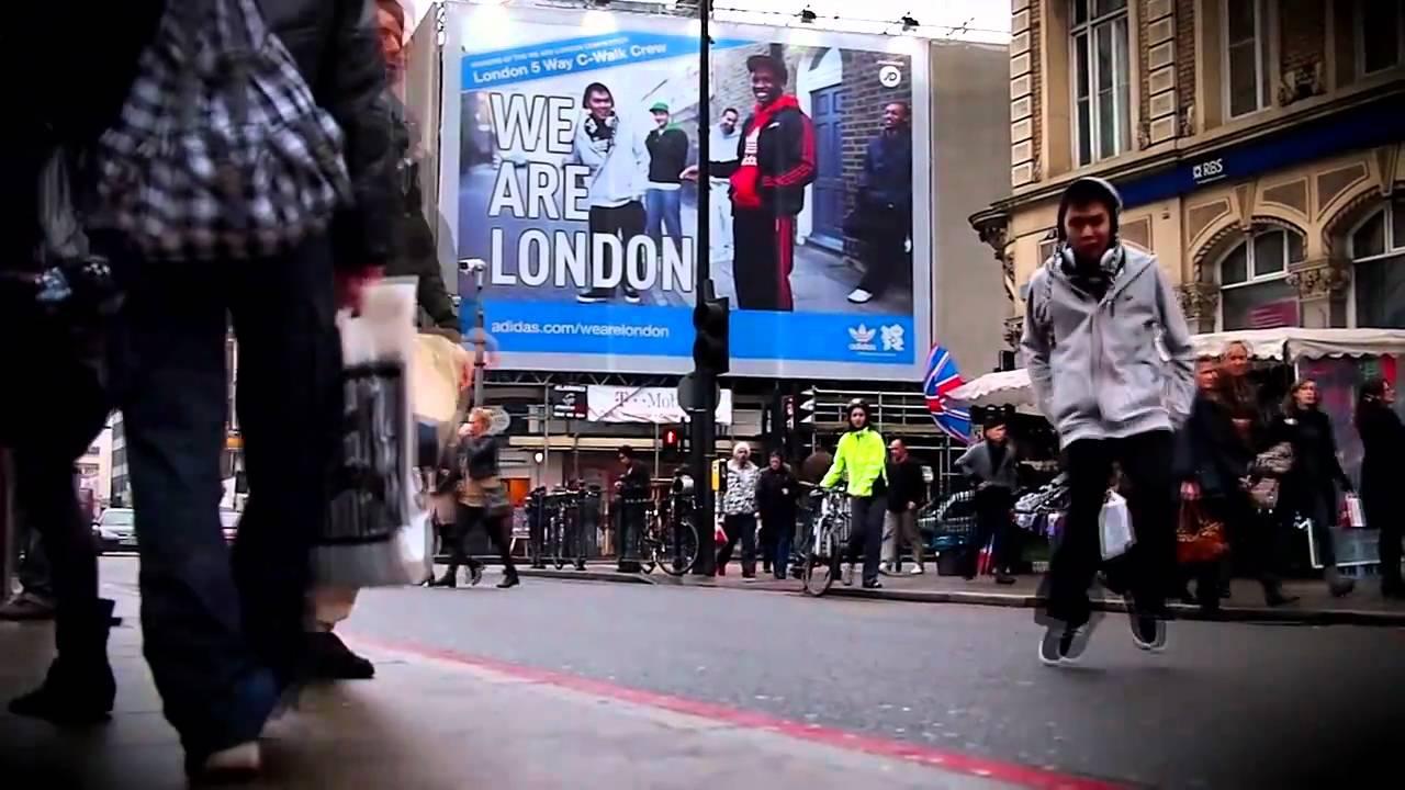 143 GoSu C-Walk WE ARE LONDON adidas crip walk cwalk