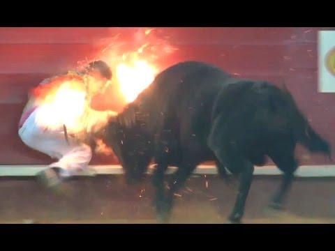 CONCURSO Recortes con toros embolados, Impresionante,