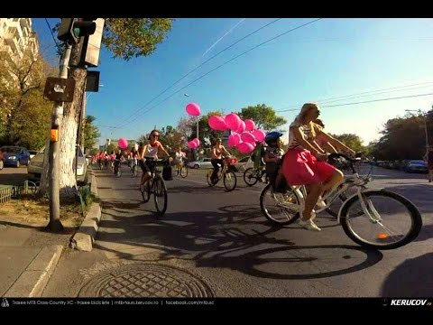 VIDEOCLIP PINK RIDE / SkirtBike Bucuresti / 2 octombrie 2016