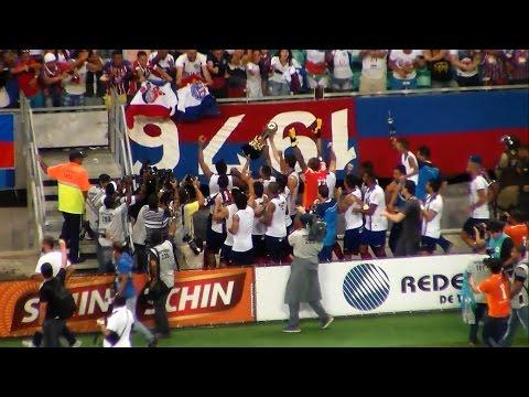 Veja os gols de Bahia 6 x 0 Vitória da Conquista