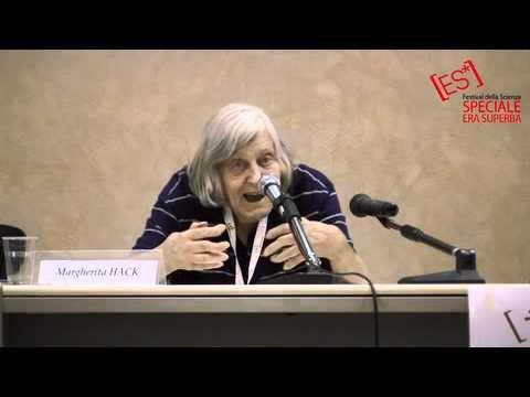 """Margherita Hack presenta il suo nuovo libro """"il mio infinito"""""""