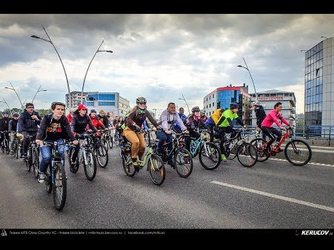 Montaj video: Marsul biciclistilor - 2 - Bucuresti, 20 aprilie 2019 [VIDEO]