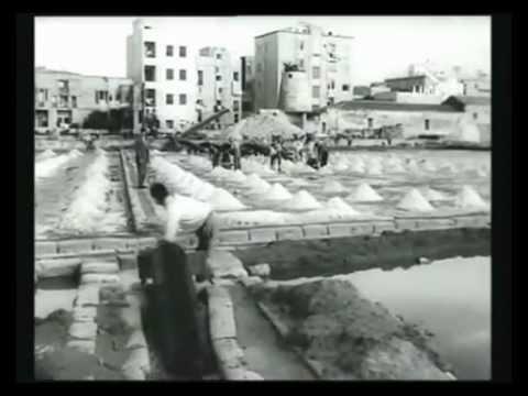 Le saline di Cagliari e Carloforte nel 1934 e nel 1961 [Istituto LUCE]
