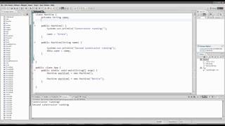 Java for Complete Beginners, Part 18: Constructors