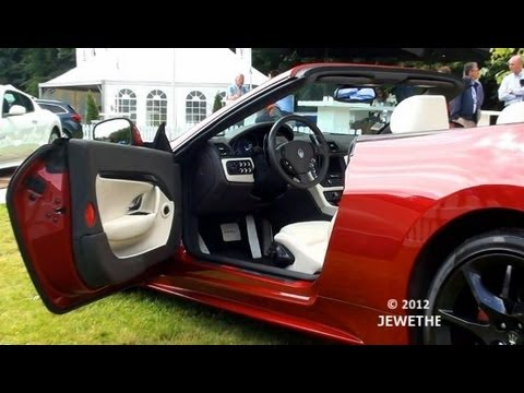 The New 2012 Maserati GranCabrio Sport - MC Stradale design (1080p Full HD)