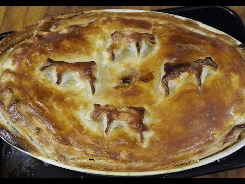Home-made Steak And Kidney Pie. TheScottReaProject