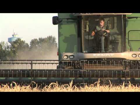Fendt Hybrid Combine Harvester - X-Series 9470 - Product Video