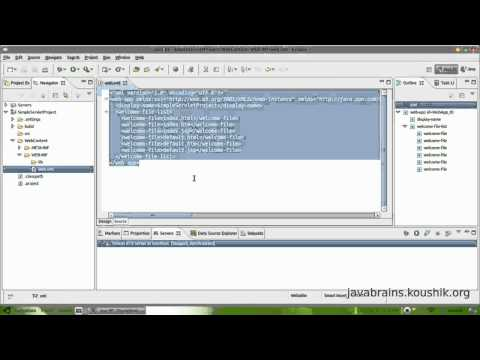 JSPs and Servlets Tutorial 02 - First Servlet Part 1