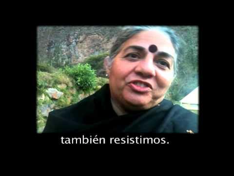 Mensaje de Vandana Shiva a los chilenos y todos los habitantes del planeta Tierra.