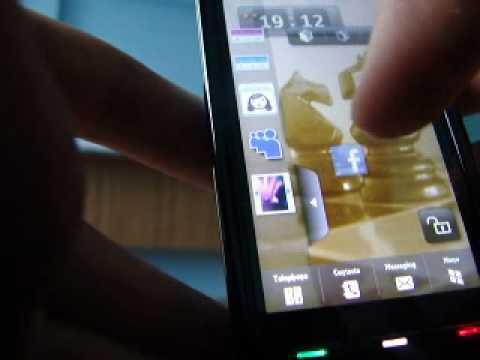 new homescreen for nokia 5800 ! flash homescreen