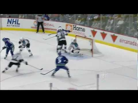 Daniel Sedin Goal - Canucks Vs Sharks - R3G2 2011 Playoffs - 05.18.11 - HD -oYMhFlgBDd8