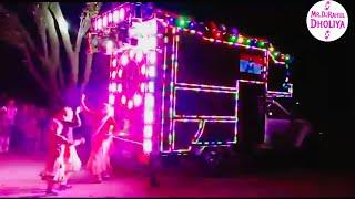 आके के देख ले कौन किसका बाप है / Amit Bhadana / full LED light decoration DJ pickup, A 1 Dabangg DJ