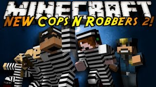 Minecraft Mini-Game : THE NEW COPS N ROBBERS ROUND 2!