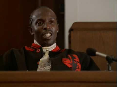 The Wire - Omar testifies against Bird
