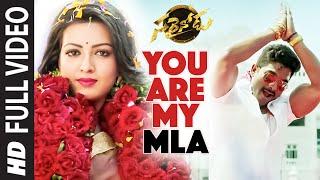 "You Are My MLA Full Video Song  \\\""Sarrainodu\\\""  Allu Arjun, Rakul Preet  Telugu Songs 2016"