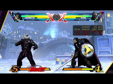 Ultimate Marvel Vs Capcom 3 TaskMaster Guide f/ FC JAGO FingerCramp Rehab