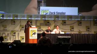 SDCC 2012 &#8211; Man of Steel &#8211; Panel Video