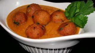 Radish Kofta Curry..