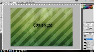 RE: Photoshop Tutorial: Custom Grunge Desktop Wallpaper [Diagonal Stripes]