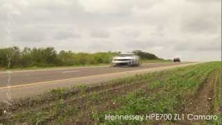 Hennessey ZL1 Camaro Runs 203.9 MPH on Texas Toll Road