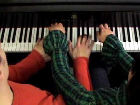 Anderson & Roe Piano Duet play BLUE DANUBE FANTASY