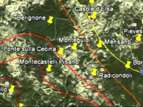 Geotermia a Casole d'Elsa - Isoterme, Vapore e 'Rocce Secche' - 3° parte