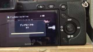 nex-6の新機能wifで写真を飛ばすダイレクトアップロード(FINE画質)