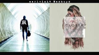 Faded vs. Closer (Mashup) - Alan Walker, The Chainsmokers & Halsey - earlvin14 (OFFICIAL)