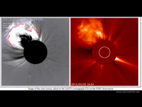 X1.1 Solar Flare + CME / Solar Watch March 5, 2012