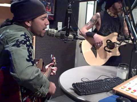 "Pop Evil ""100 in a 55"" (Acoustic) @ Rock105.5 Studios"