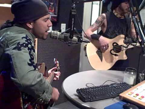 "Pop Evil ""100 in a 55"" (Acoustic) @ Rock105.5 Studios"